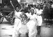 Shri Mataji's Involvement in India's Freedom Struggle
